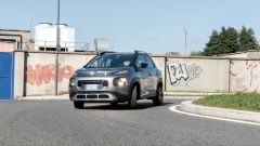 Citroen C3 Aircross: il frontale
