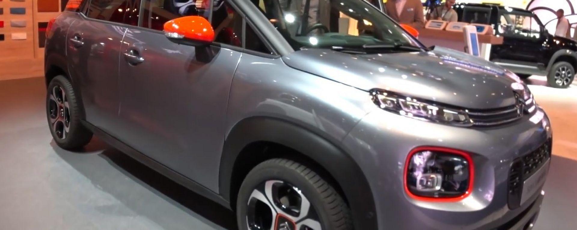 Citroen C3 Aircross 2017: il SUV compatto manda in pensione la C3 Picasso