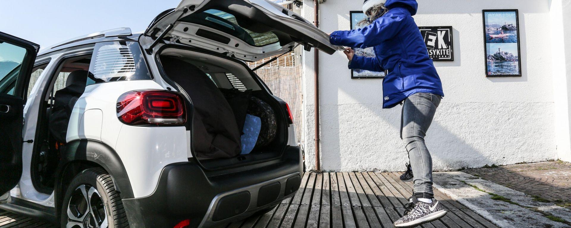 Citroën C3 Aircross: le mille e una tavola... da caricare