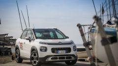 Citroën C3 Aircross, prova di slalom: quanto è agile il SUV compatto? - Immagine: 19