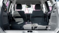 Citroen C3 Aircross: vano portabagagli con sedili reclinati