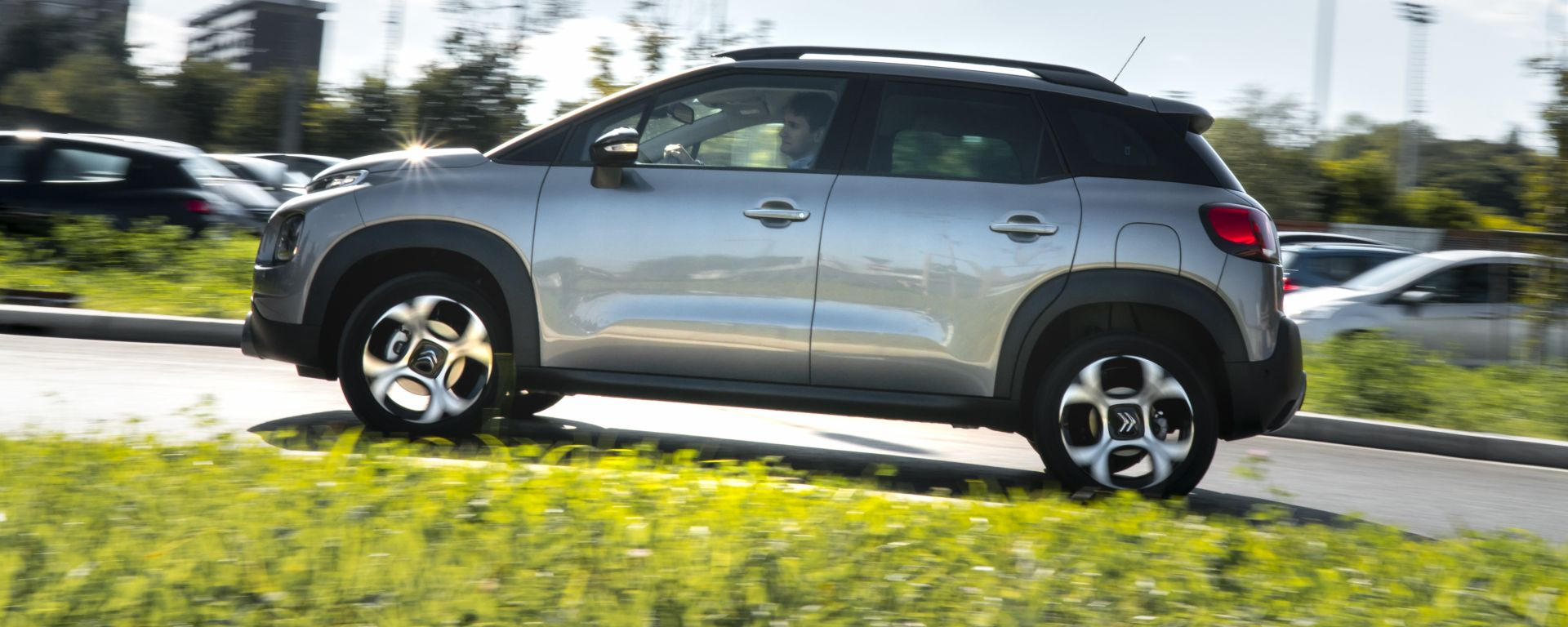 Citroen C3 Aircross: vista laterale