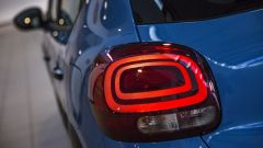 Citroën C3 Facebook-Only, le luci di coda