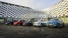 Citroen C3, Ford Fiesta, Nissa Micra, Suzuki Swift, Volkswagen Polo al circuiti del Centro Guida Sicura ACI-Sara di Lainate