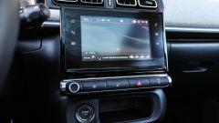 Citroen C3: il monitor touch misura 7 pollici