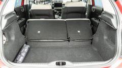 Citroen C3 PureTech 110 S&S 2021, interni: coi sedili giù il bagagliaio arriva a 1.300 litri