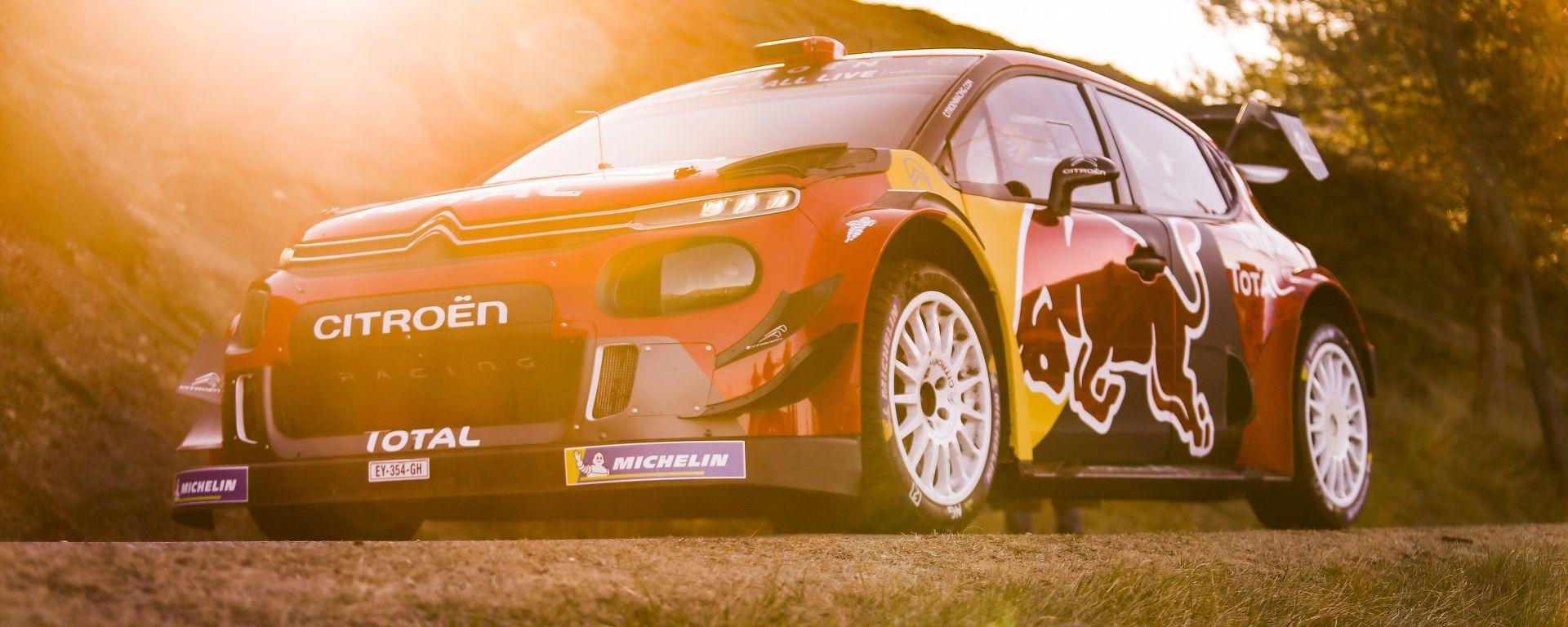 Citroen C3 WRC: l'obbiettivo è fare bene nel Principato