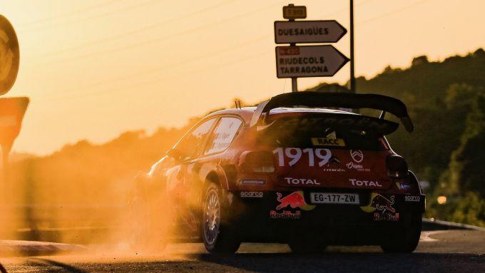 Citroen C3 Wrc Plus - Rally di Spagna