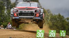 Rally Australia: un finale difficile per le Citroen C3 WRC