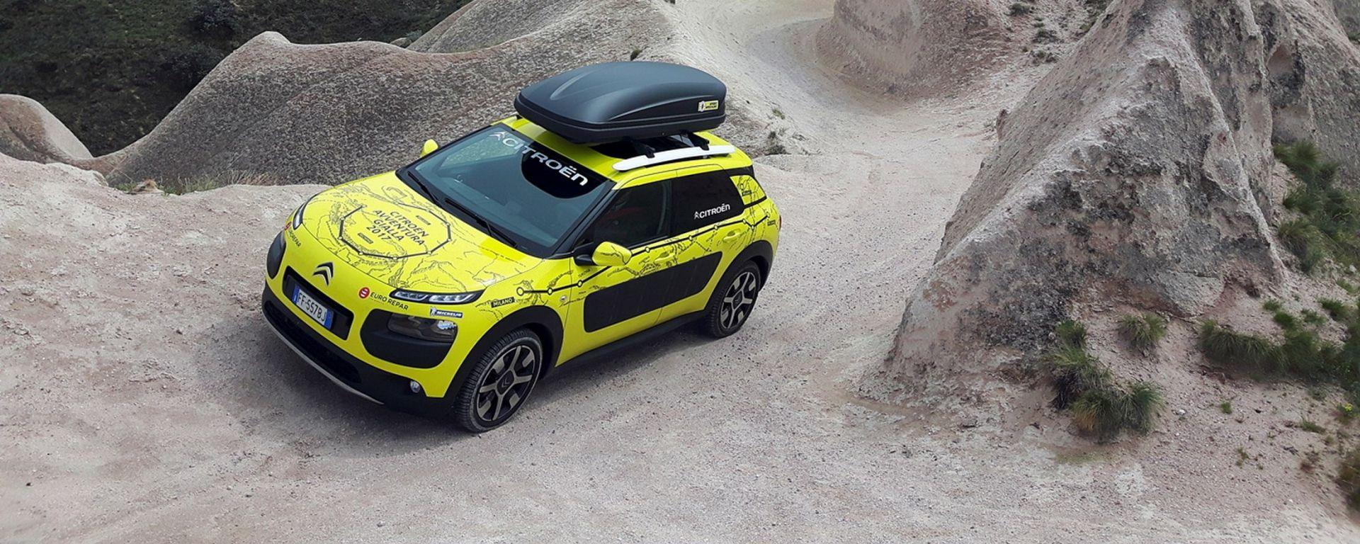 Citroen C4 Cactus: continua l'avventura gialla verso la Cina