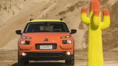 Citroen C4 Cactus Unespected by Gufram: il frontale arancione