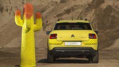 Citroen C4 Cactus Unespected by Gufram: il posteriore è completamente giallo