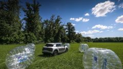 Citroën C4 Cactus: Airbump vs Bubble ball - Immagine: 13