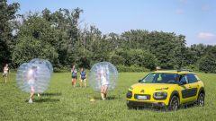 Citroën C4 Cactus: Airbump vs Bubble ball - Immagine: 204