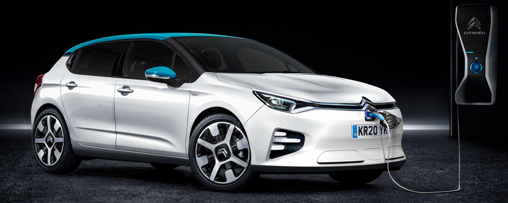 Citroen C4 electric 2020