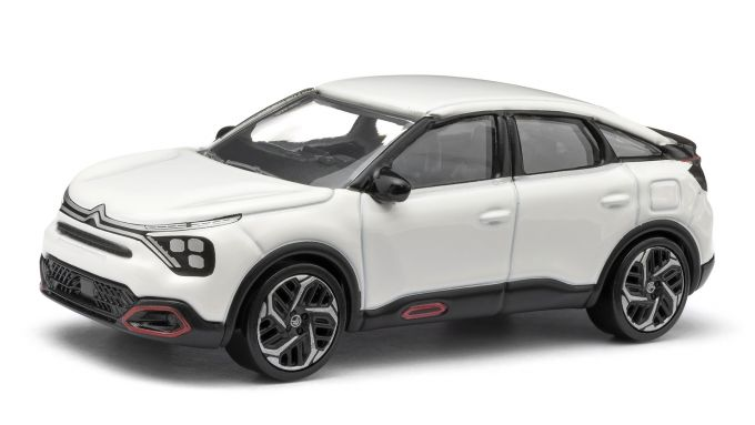 Citroen C4: i modellini, visuale laterale