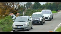 Citroën C4 Picasso vs  Fiat 500L Living vs Kia Carens - Immagine: 4