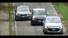 Citroën C4 Picasso vs  Fiat 500L Living vs Kia Carens - Immagine: 6