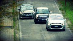 Citroën C4 Picasso vs  Fiat 500L Living vs Kia Carens - Immagine: 1