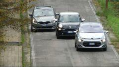 Citroën C4 Picasso vs  Fiat 500L Living vs Kia Carens - Immagine: 5