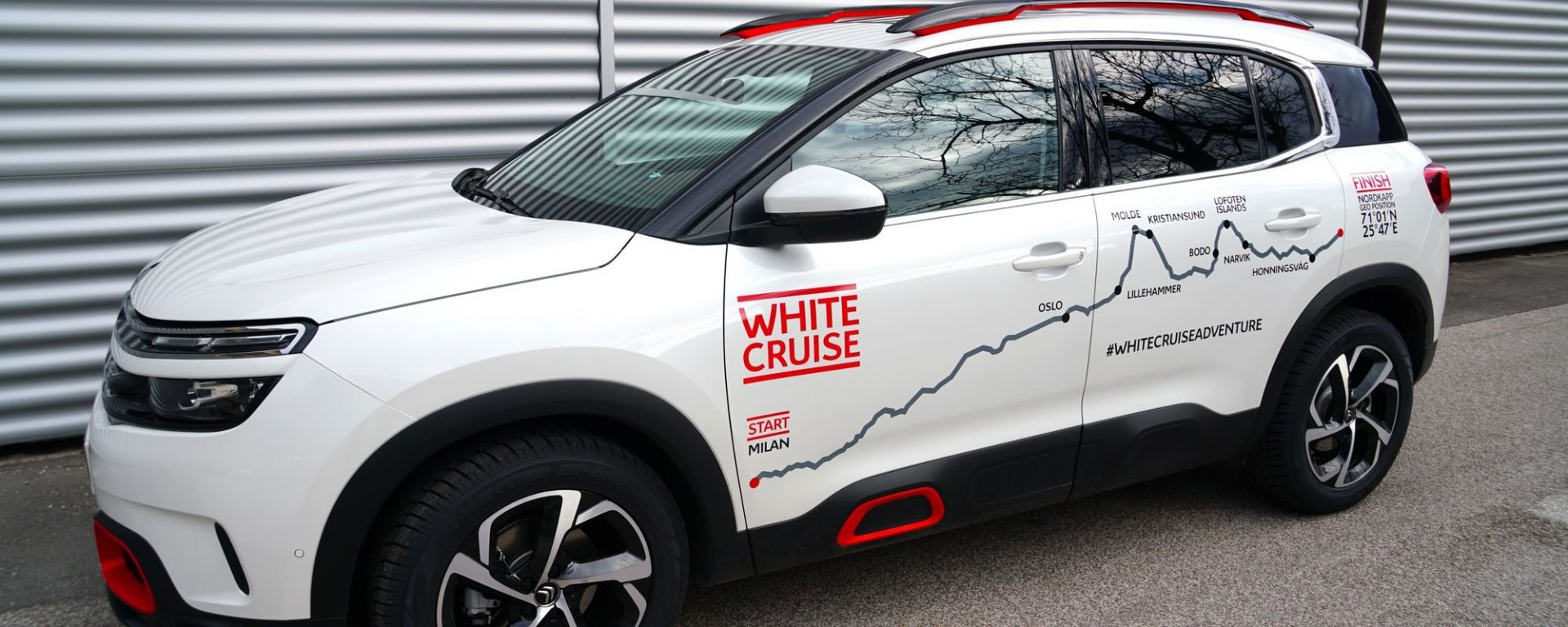 Citroen C5 Aircross 71° N Limited Edition: parte la White Cruise