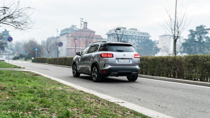 Citroen C5 Aircross Hybrid 2021: Sport, Electric e Hybrid le 3 modalità di guida