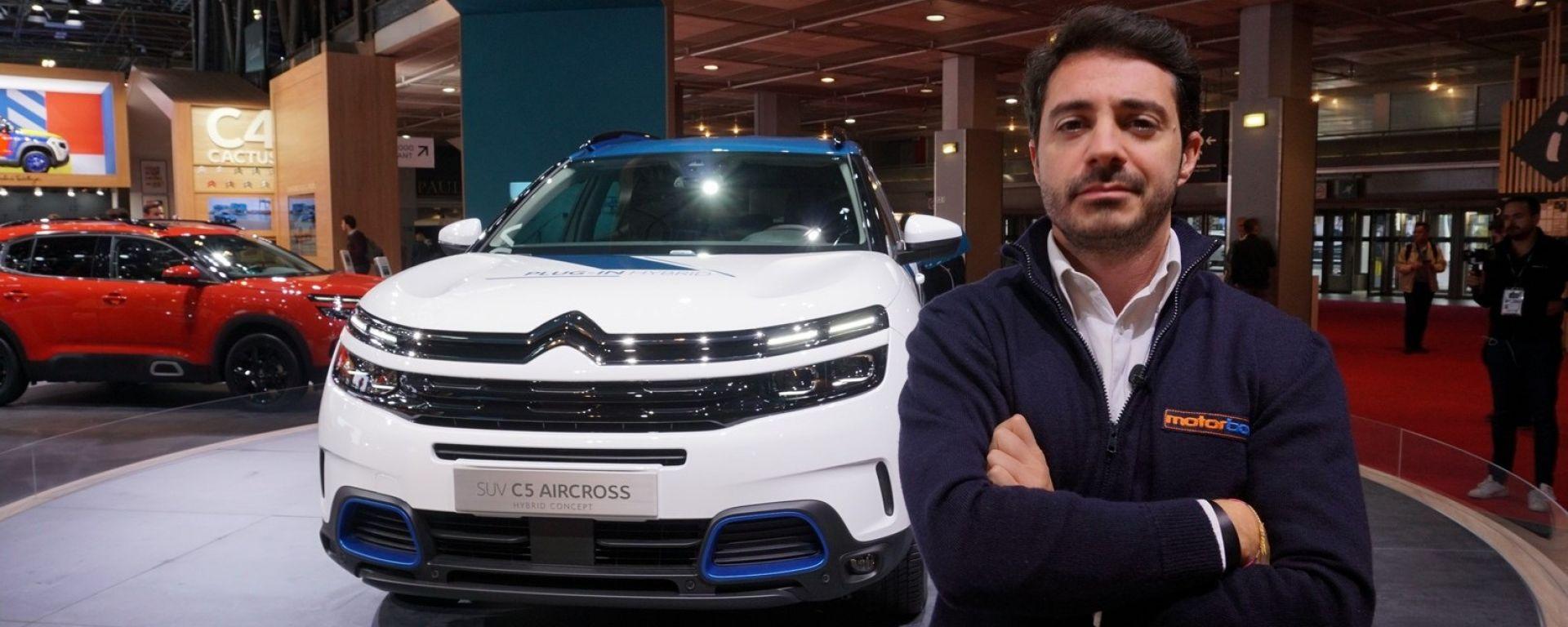 C5 Aircross Hybrid Concept: in video dal Salone di Parigi 2018