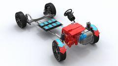 Citroen C5 Aircross Hybrid: le batterie collocate sotto il sedile posteriore