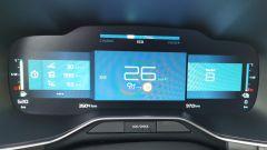 Citroen C5 Aircross hybrid Plug-In: il computer di bordo con i chilometri percorsi in elettrico