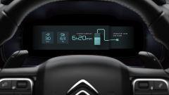 Citroen C5 Aircross Hybrid: una delle visualizzazioni della strumentazione digitale