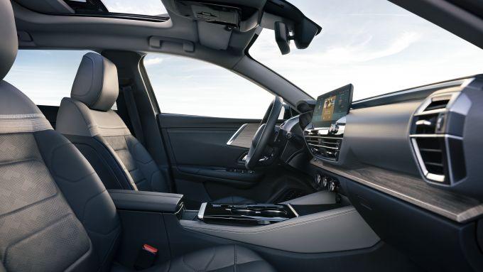 Citroen C5 X, plancia e sedili anteriori