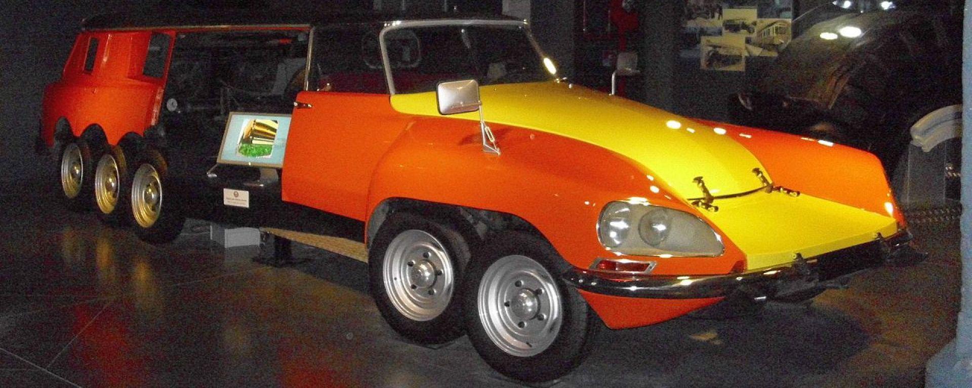 Citroen DS Millepiedi e non solo. 5 auto con più di 4 ruote