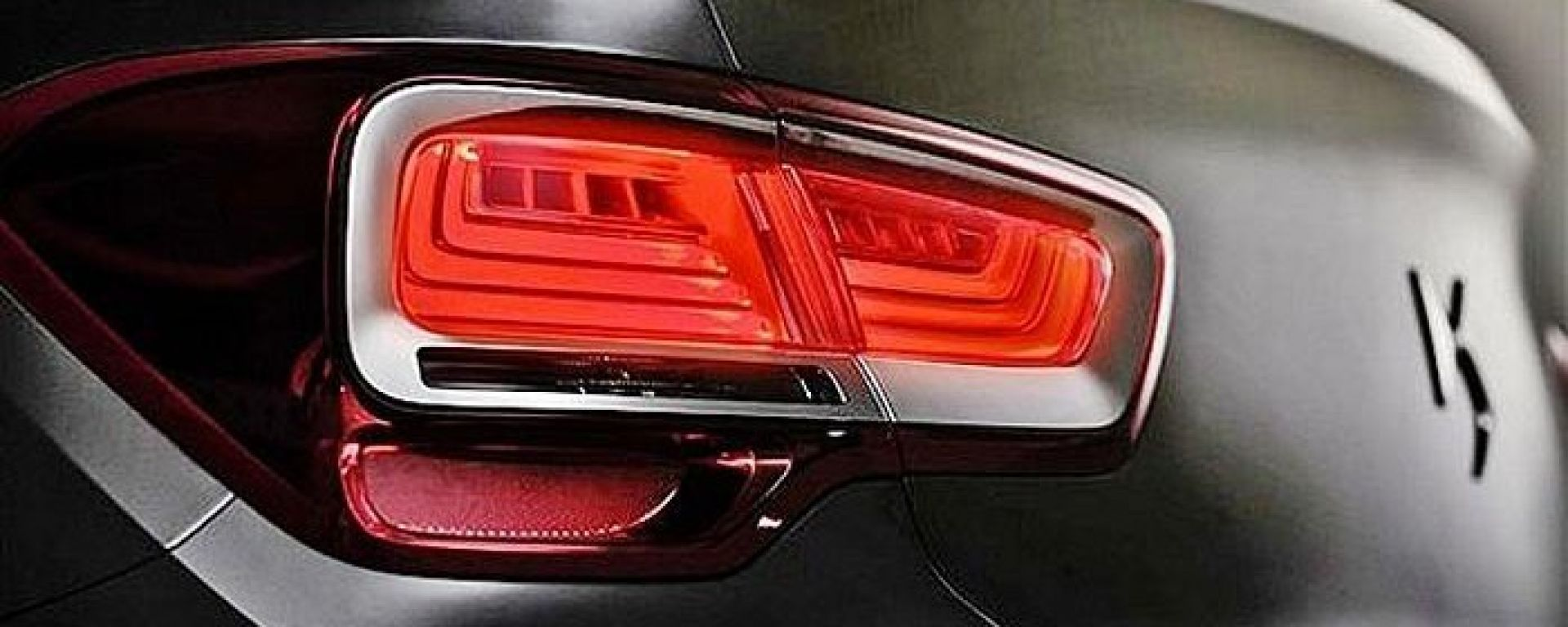 Citroën DS5 berlina: i primi teaser