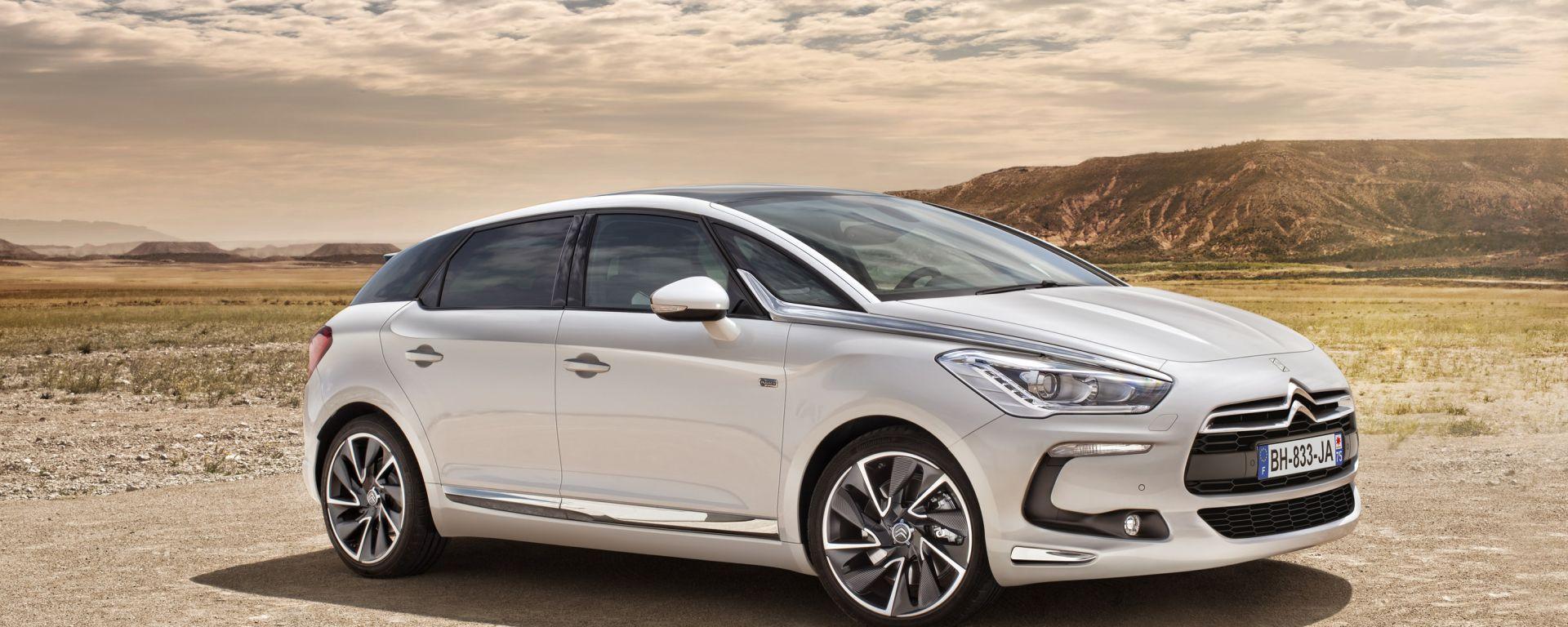 Citroën DS5: le nuove foto ufficiali