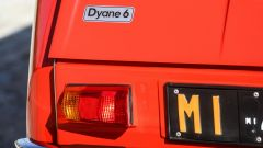 Citroen Dyane 6: dettaglio del fanale