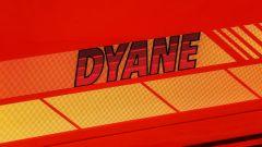 Citroen Dyane 6: gli adesivi sulle fiancate