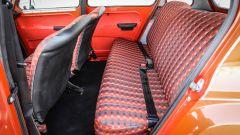 Citroen Dyane 6: il divanetto posteriore