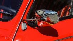 Citroen Dyane 6: lo specchio retrovisore