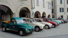 Citroen Dyane: il raduno a Bobbio, in provincia di Piacenza