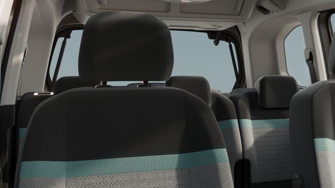 Citroen e-Berlingo: i rivestimenti dei sedili