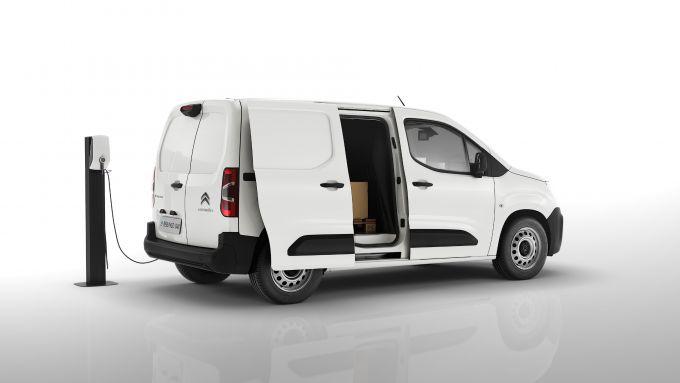 Citroen e-Berlingo Van 2021: il veicolo commerciale diventa elettrico