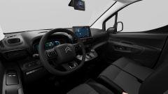 Citroen e-Berlingo Van 2021, interni: l'abitacolo è dotato di schermo da 5