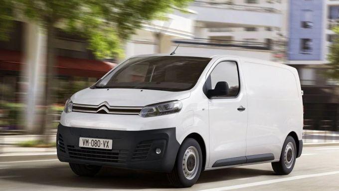 Citroen e-Jumpy: il veicolo commerciale diventa elettrico