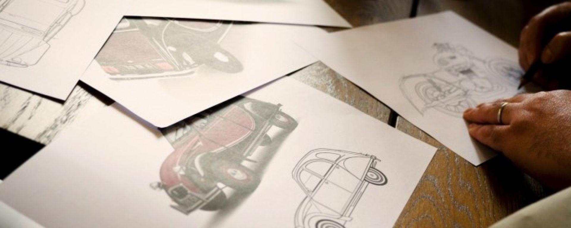 Citroen Italia commissiona una moto per festeggiare i 70 anni di 2CV