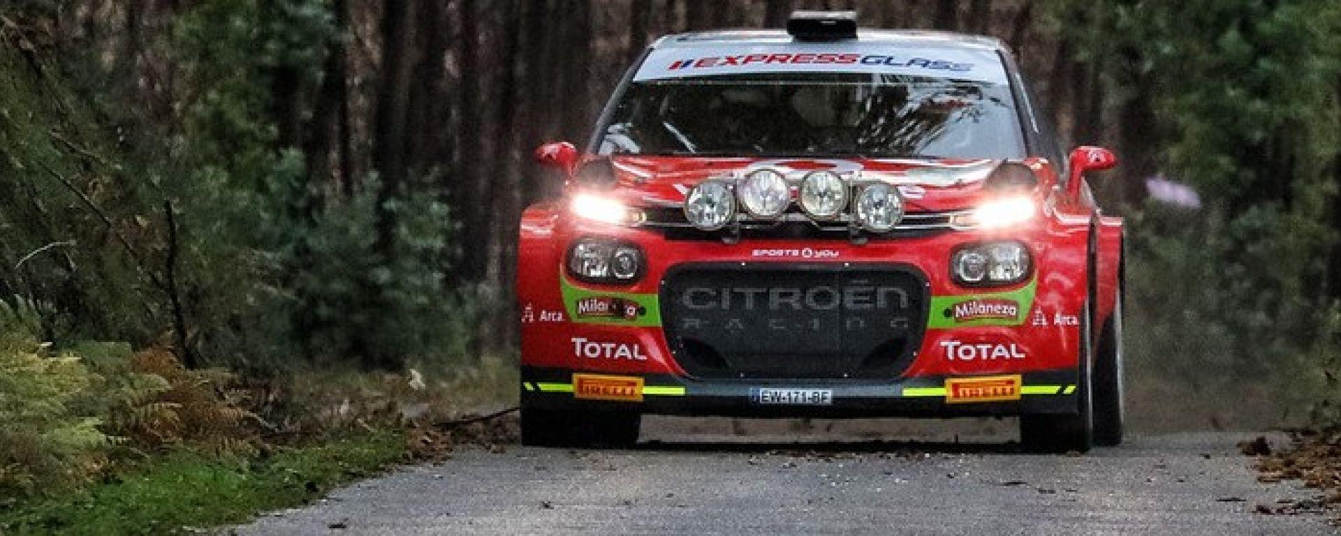 Citroen Italia Racing debutta nel Campionato Italiano Rally