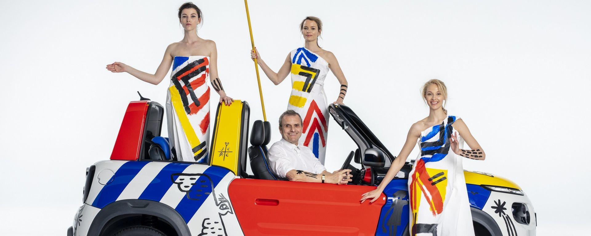 Citroen Mehari festeggia i 50 anni con un' Art Car celebrativa