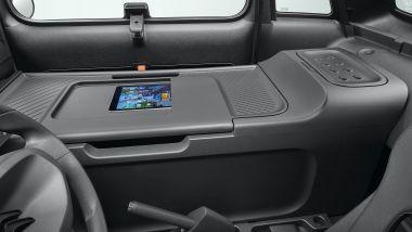 Citroen My Ami Cargo: il piano di lavoro accanto al conducente