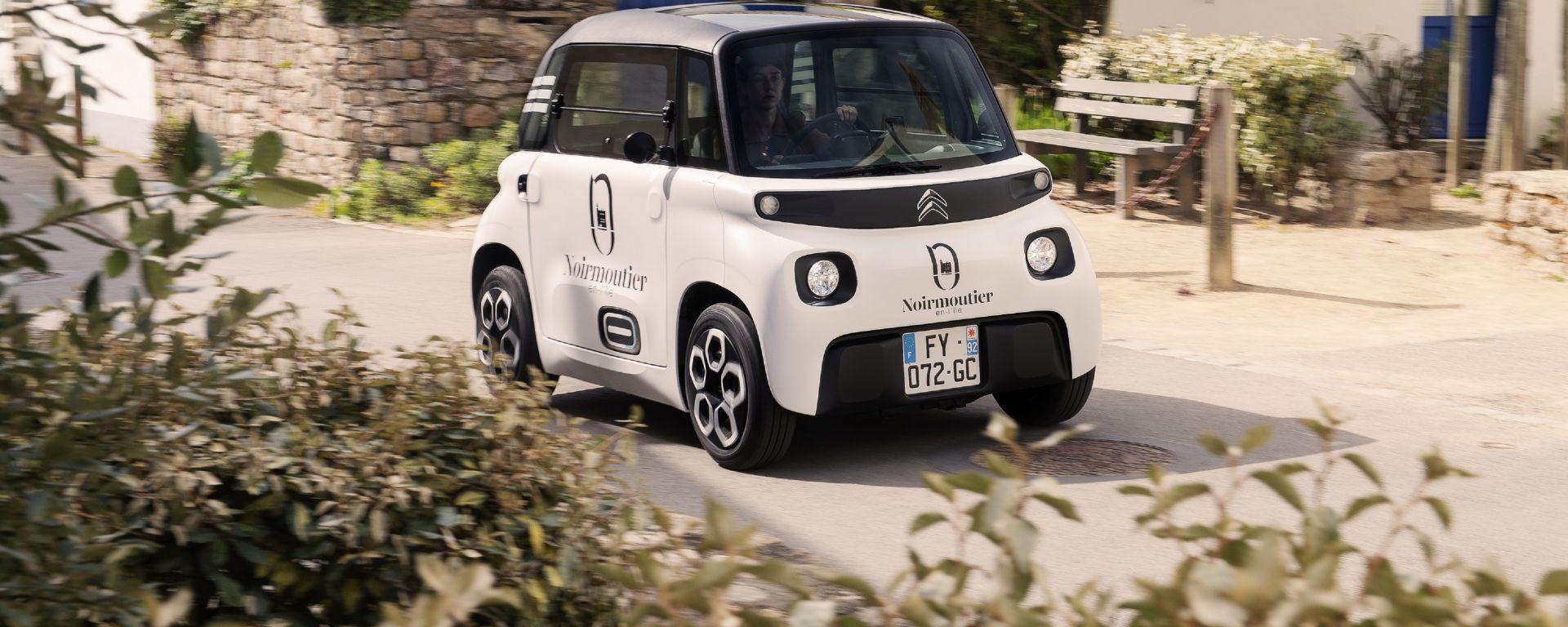 Citroen My Ami Cargo, la microcar elettrica per i professionisti è ora in vendita