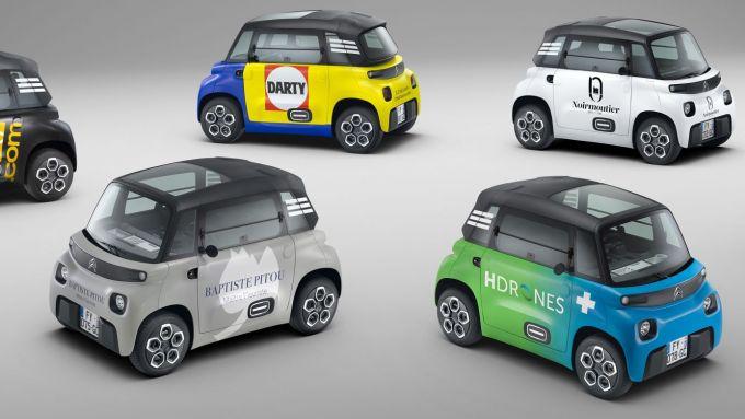 Citroen My Ami Cargo: la microcar per i professionisti