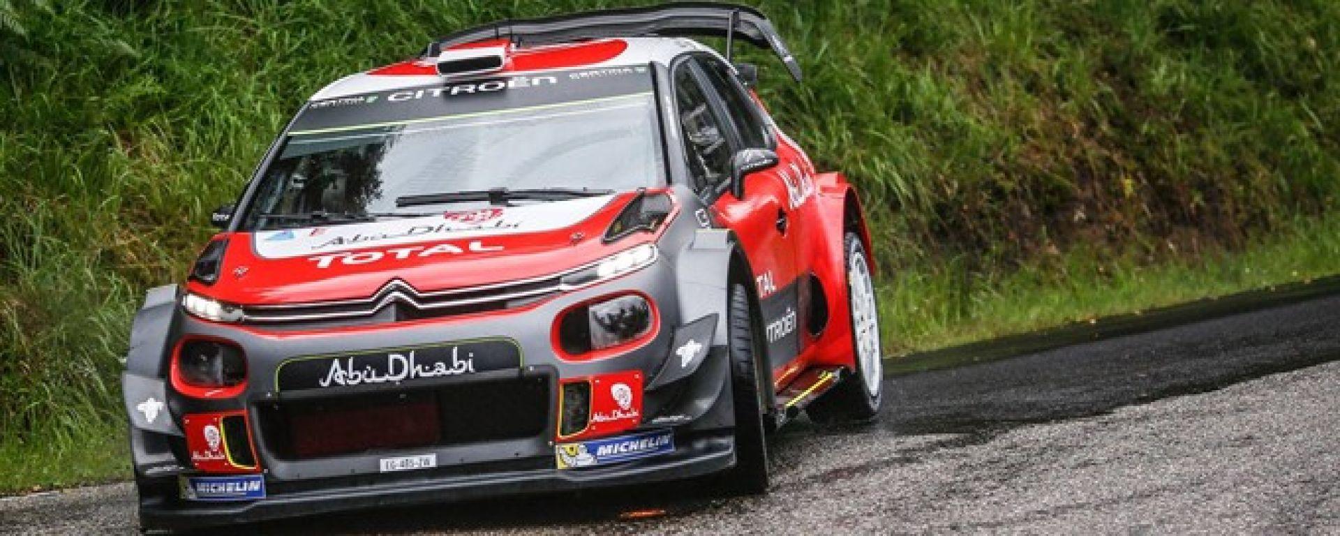Citroen punta a conquistare il rally di casa con la sua C3 WRC